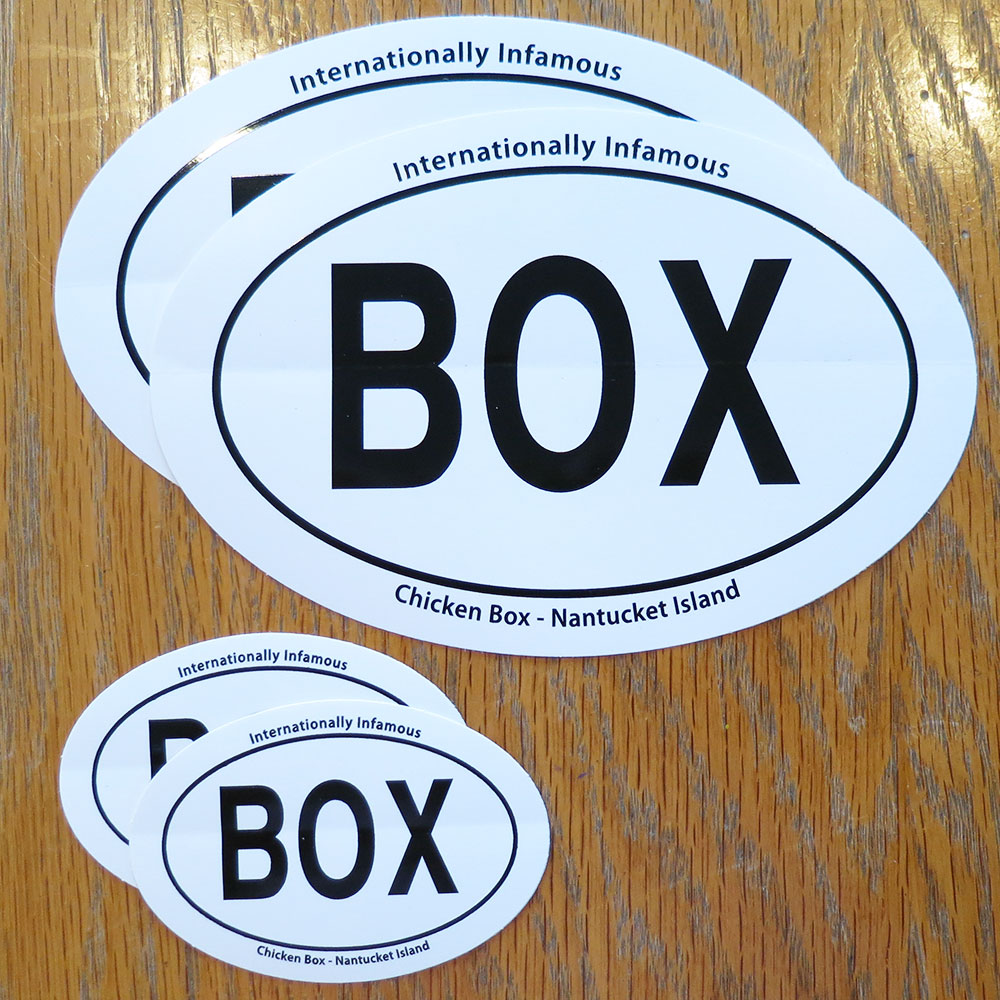 Box Decals Set of 4