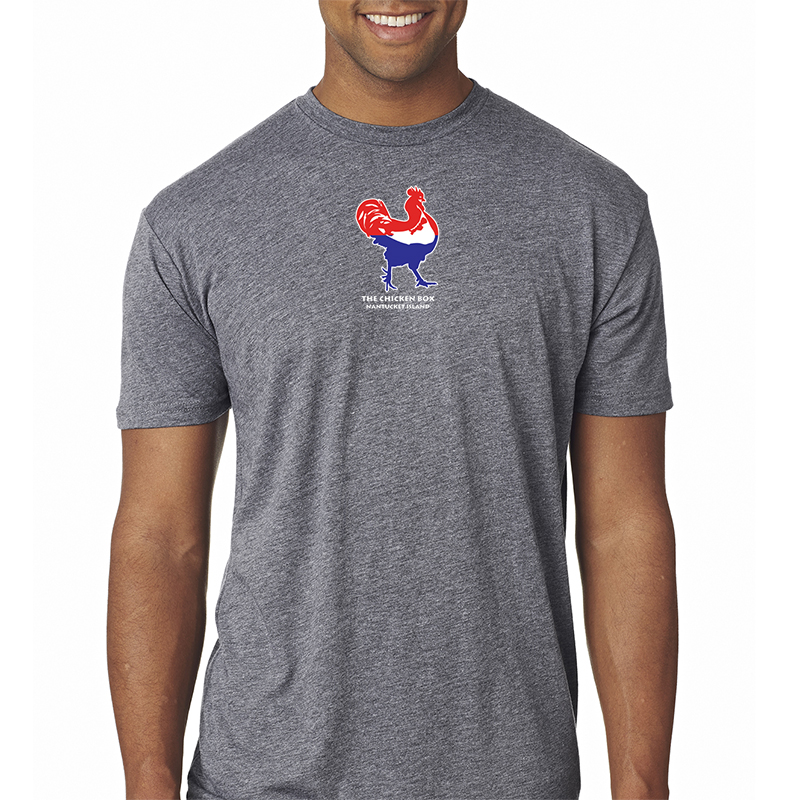 Red/White/Blue Chicken Tee
